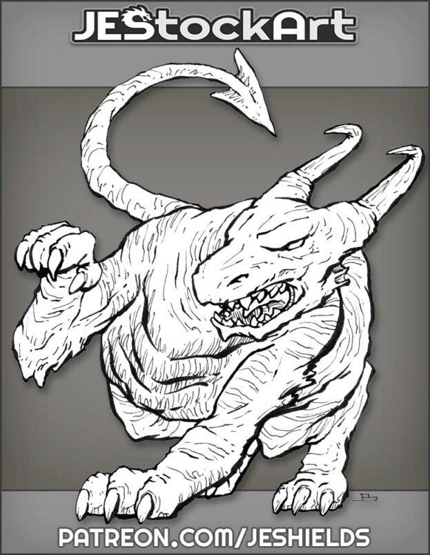 Crouching Dragon by Jeshields