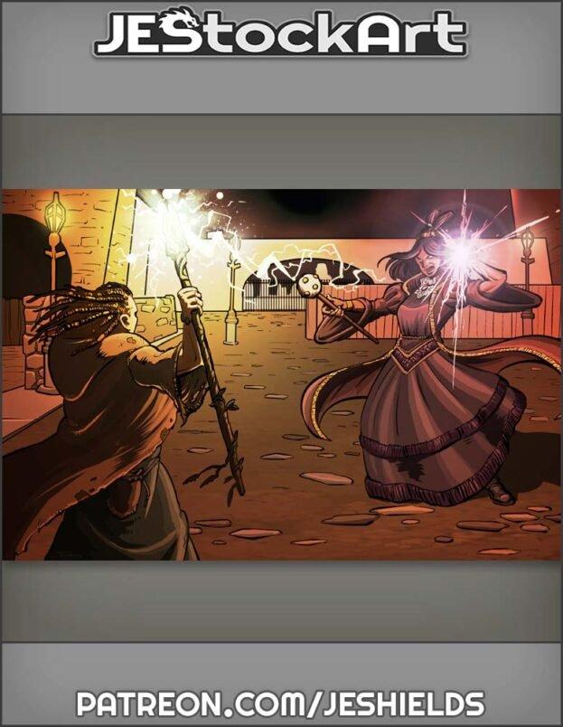 Dark London Magical Combat by Jeshields