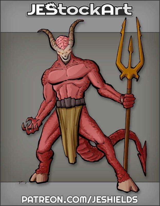 Horned Demon by Jeshields