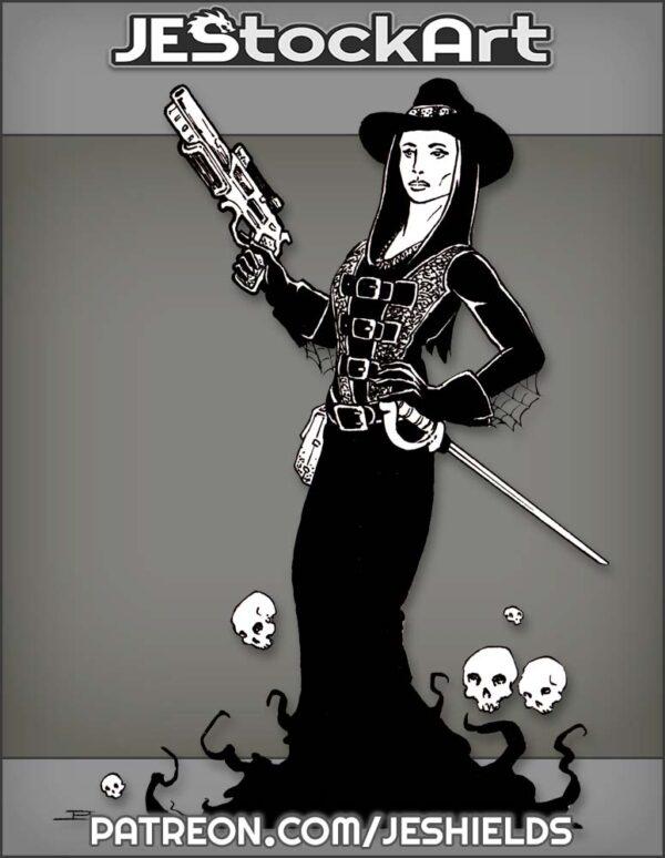 Macabre Madam Monster Hunter by Jeshields