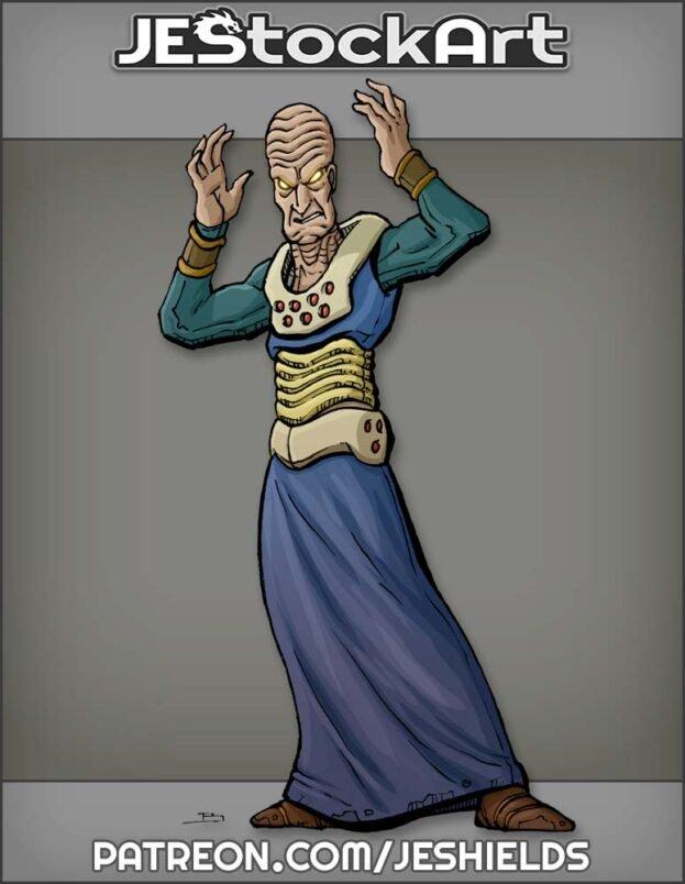 Robed Alien Thinker by Jeshields