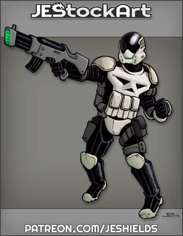 Standard SciFi Death Trooper by Jeshields