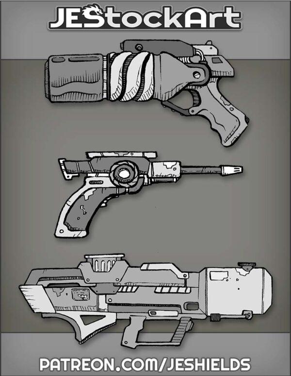 Weapon Bundle 01 by Jeshields