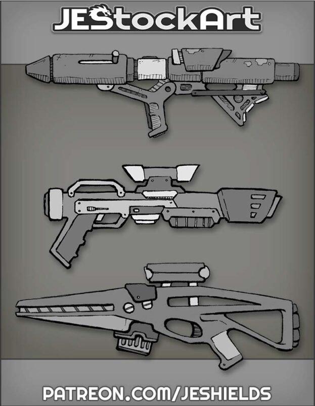 Weapon Bundle 03 by Jeshields