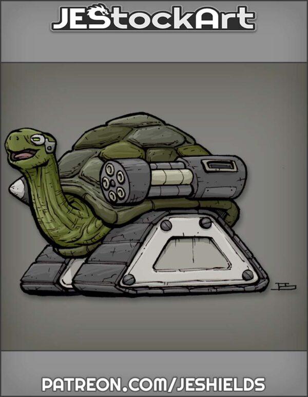 Super Pet Bionic Tortoise with Tank Treads by Jeshields