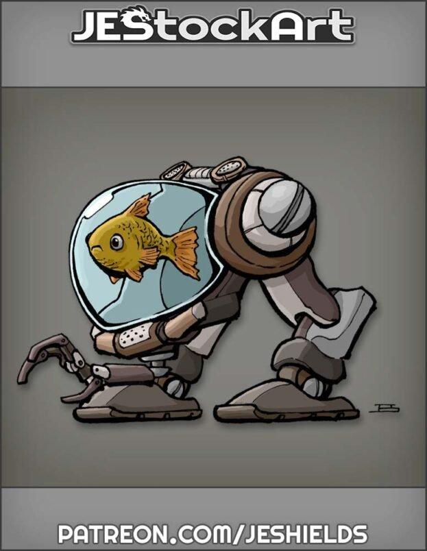 Super Pet Mecha Fish by Jeshields