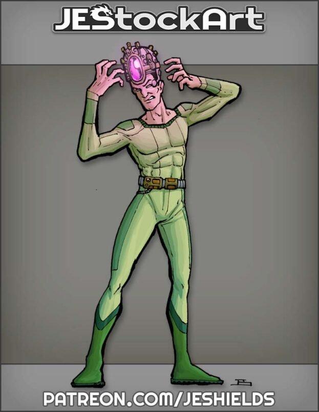 Thin Man with Mind Control Gem by Jeshields