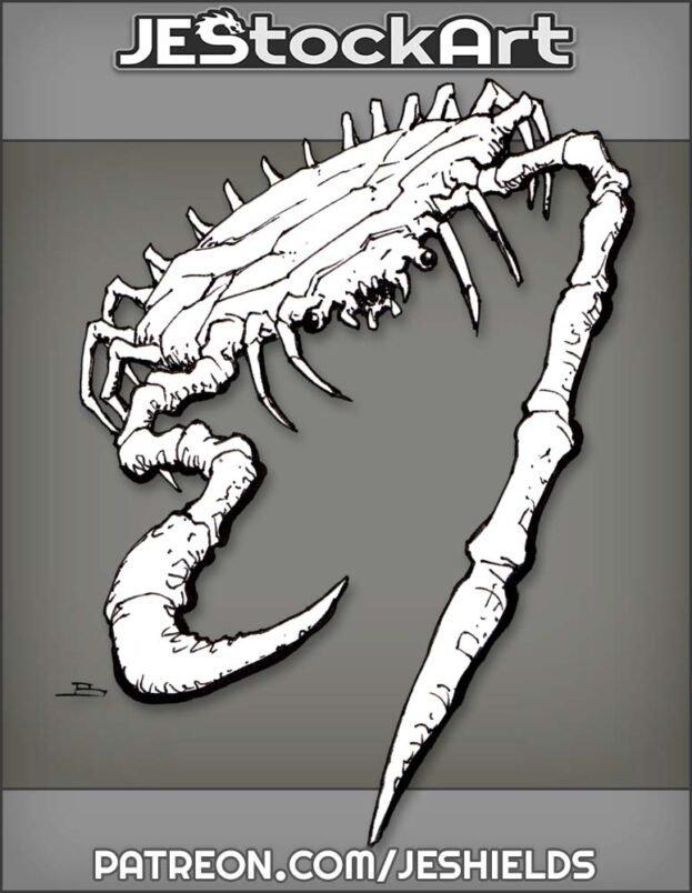 Alien Creature on Crab Legs by Jeshields