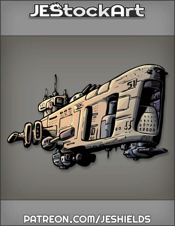 Space Craft Battleship by Jeshields