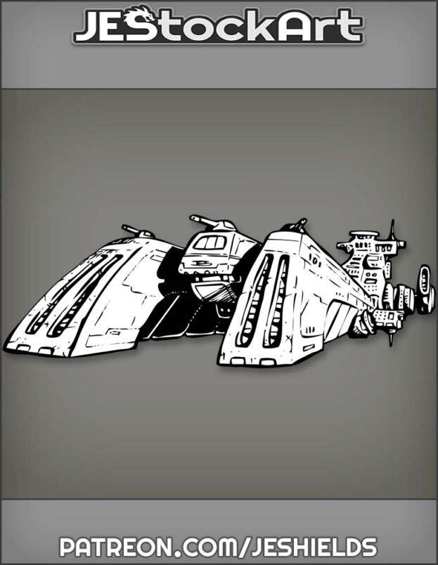 Space Craft Cruiser by Jeshields