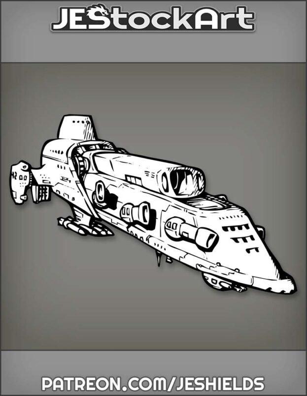 Space Craft Destroyer by Jeshields