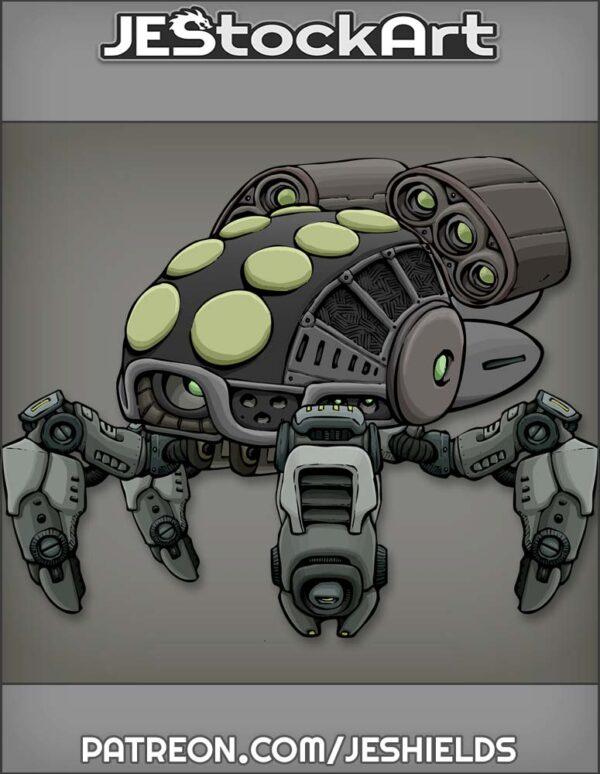 Futuristic Vehicle with Advanced Tech 015 by Jeshields