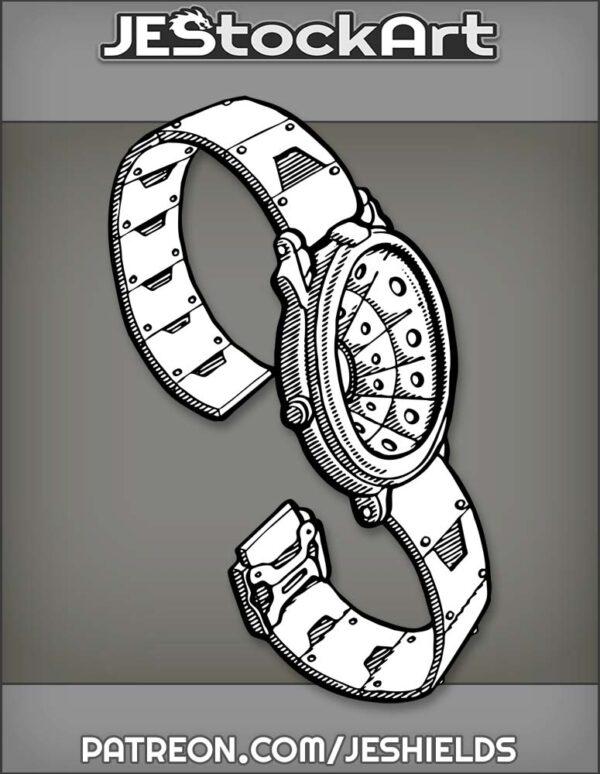 WristWatchWithHolographicDisplayTurnedOff by Jeshields