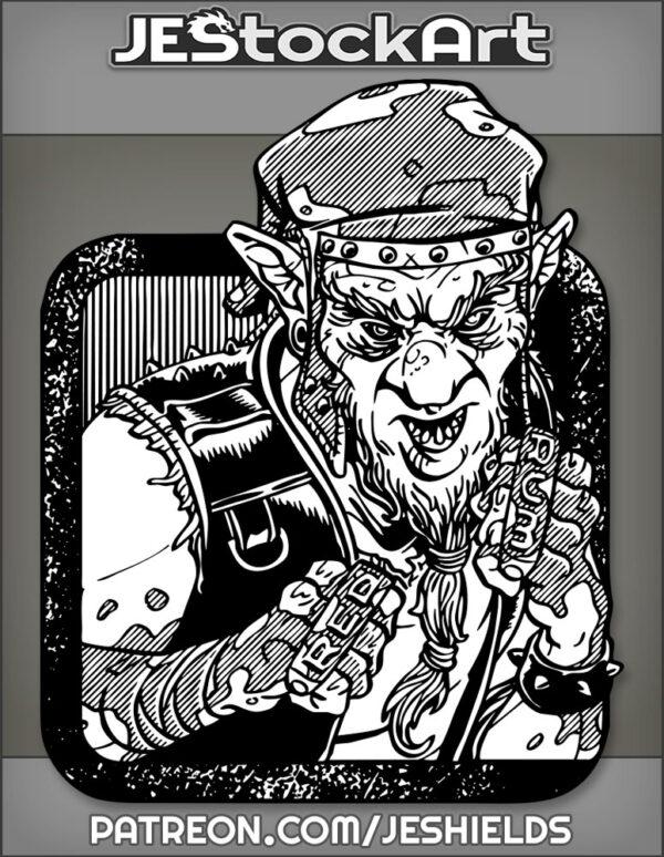 Redcap Punk with Brass Knuckles by Jeshields